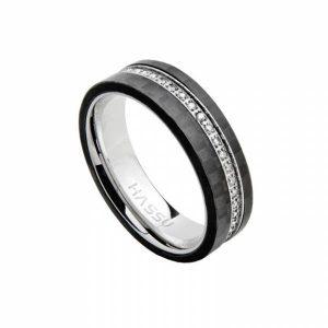 Aliança HASSU em aço e carbono- 5mm