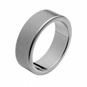 Aliança HASSU em aço – 5mm – anilha